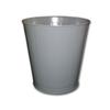 Impact 28-Quart Round Metal Wastebasket IMP 1302-3