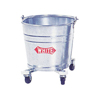 Impact Galvanized Steel Bucket with Casters IMP260