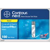 Glucose: Ascensia Diabetes Care - Contour Next Blood Glucose Test Strip (100 count), 100/BX