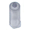 BD Vacutainer One-Use Non-Stackable Holder, Clear, 250/PK IND 58364815-PK