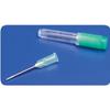 "needles: Medtronic - Monoject Rigid Pack Hypodermic Needle with Polypropylene Hub 18G x 1"", 100/BX"