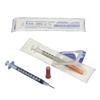"""needles: Medtronic - Monoject SoftPack Insulin Syringe 30G x 5/16"""", 1/2mL, 100/BX"""