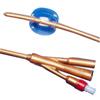 Cardinal Health Dover 2-Way Silicone Foley Catheter 24 Fr 5 cc, 1/EA IND 61605247-EA