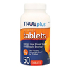 Trividia TRUEplus Glucose Tablets 50 count, Orange, 50/BX IND 67P1H01RN50
