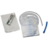"enemas: Medtronic - Flatus Bag with Rectal Tube Pre-lubricated Tip and Harris Flush Tube 24 fr x 19"", 50/CS"