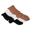 Cardinal Health T.E.D. Knee Length Continuing Care Anti-Embolism Stockings Medium, Black, 1/EA IND 684435-EA