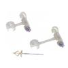 Medtronic NutriPort Skin Level Gastrostomy Kit 12 fr x 1-2/3 cm, 1/EA IND 68712170-EA