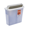 Cardinal Health In-Room Sharps Container with Mailbox-Style Lid 5 Quart, 1/EA IND 6885131-EA
