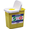 Cardinal Health ChemoSafety Container with Hinged Lid 2 Gallon, 1/EA IND 688982-EA