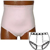 Options Ostomy Support Barrier Ladies Basic with Built-In Barrier/Support, Soft Pink, Center Stoma, Small 4-5, Hips 33 - 37, 1/EA IND 8080001SC-EA