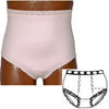 Options Ostomy Support Barrier Ladies Basic with Built-In Barrier/Support, Soft Pink, Dual Stoma, Small 4-5, Hips 33 - 37, 1/EA IND 8080001SD-EA