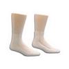 Ring Panel Link Filters Economy: Salk - HealthDri Acrylic Diabetic Sock Size 9 - 11, White, One Pair