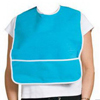 "Dietary: A-T Surgical - Adult Terry Bib Crumb Catcher Plastic Back 16"" x 24"", 1/EA"