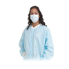 workwear lab coats: Amd Ritmed - Disposable Lab Coat, Large, Blue, 50/CS
