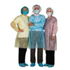 workwear healthcare: AMD Ritmed - Economy Isolation Gown Regular, Yellow, 50/CS