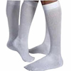 Jobst SensiFoot Knee-High Mild Compression Diabetic Sock Medium, White, One Pair IND BI110832-EA