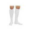 Jobst SensiFoot Crew Length Mild Compression Diabetic Sock X-Small, White, One Pair IND BI110835-EA