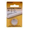 Supreme Technologies 3V Lithium Battery, 1/EA IND CBCR2032-EA