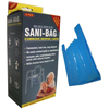 Ring Panel Link Filters Economy: Mobility Transfer Systems - Sani-Bag Commode Liner with Handles, 100/CS