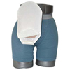 C&S Ostomy Pouch Covers Daily Wear Pouch Cover, Open End, Fits Flange Opening of 3/4 to 2-1/4, Overall Length 10, White, 1/EA IND CX582811-EA