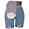 C&S Ostomy Pouch Covers Daily Wear Pouch Cover, Open End, Fits Flange Opening of 3/4 to 2-1/4, Overall Length 10, Grey, 1/EA IND CX582831-EA