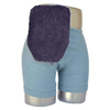 C&S Ostomy Pouch Covers Quick Dry Pouch Cover, Fits Flange Opening of 3/4 to 2-1/4, Overall Length 9, Navy Terry Cloth, 1/EA IND CX72750-EA