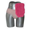 C&S Ostomy Pouch Covers Quick Dry Pouch Cover, Fits Flange Opening of 3/4 to 2-1/4, Overall Length 9, Pink Terry Cloth, 1/EA IND CX72751-EA