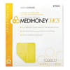 Integra Lifesciences MEDIHONEY Adhesive HCS Sheet, 4.5 x 4.5, 10/BX IND DS31744-BX