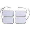 Bio-Protech Elite Silver White Cloth Silver Electrode, 2 x 3.5 Rectangle, 4/PK IND DYRG5090WSL-PK