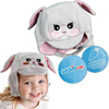 Rehabilitation: Ouchie Cap - Cool Gel N Cap Kids Ice and Heat Packs with First Aid Cap, Tulip The Bunny, 1/EA