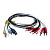 Biomedical Life Systems Touch Proof Leadwire 48 (1.2m) Multi Color, 1/EA IND FAL00013MC-EA