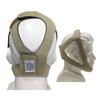 AG Industries Topaz Style Chinstrap, Adjustable, Tan, 1/EA INDFHSPCHADJ-EA