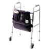 Homecare Products Front Mount Walker Carry-On, 17-1/2 x 18-1/2 x 1, Black, 1/EA IND HNEZ0040-EA