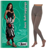 Juzo Soft Leggings, 15-20, Regular 28-1/4 - 32-3/4, Kitty Cat Gray, Size 1, 1/EA IND JU2000BT651-EA