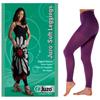 Juzo Soft Leggings, 15-20, Regular 28-1/4 - 32-3/4, Mardi Gras Purple, Size 1, 1/EA IND JU2000BT661-EA