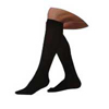Juzo Soft Knee High with Silicone Border, 20-30 mmHg, Full Foot, Regular, Black, Size 4, 1/EA IND JU2001ADFFSB410-EA