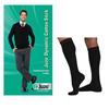 Juzo Dynamic Cotton for Men Knee-High, 20-30, Full Foot, Black, Size 4, 2/PK IND JU3521ADFF104-PK
