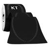 KT Health Pro Therapeutic Synthetic Tape, Jet Black, 1/BX IND KJ9003478-BX