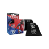 KT Health Synthetic Tape Team USA Pro, 4 x 4, Black, 20/BX IND KJ9020246-BX