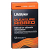 Personal Care & Hygiene: Kinray - LifeStyles Condoms Pleasure Ribbed Premium Lubricated Latex Condoms, 1/EA