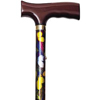 Alex Orthopedic Folding Travel Cane with Fritz Handle, Butterfly, 1/EA IND MNT10510-EA