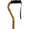 Alex Orthopedic Offset Handle Cane, Summer Garden, 1/EA IND MNT10912-EA