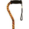 Alex Orthopedic Offset Handle Cane, Leopard, 1/EA IND MNT10922-EA