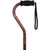 Alex Orthopedic Offset Handle Cane, Paisley, 1/EA IND MNT21005-EA