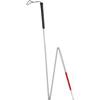 Alex Orthopedic Folding Blind Cane with Putter Grip and Wrist Strap, 1/EA IND MNT69000-EA