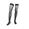 Medi Assure Thigh-High with Silicone Top Band, 20-30, Closed, Black, Size 3, 1/EA IND NE14553-EA