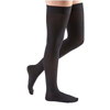 Medi Comfort Thigh-High with Silicone Top Band, 20-30, Closed, Ebony, Size 6, 2/PK IND NE18756-PK