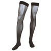 Medi Assure Thigh-High with Silicone Top Band, 30-40 mmHg, Closed, Black, Small, 1/EA IND NE2235S-EA