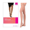 Medi Mediven Sheer & Soft Thigh-High with Lace Silicone Band, 30-40, Closed, Natural, Size 4, 1/EA IND NE43804-EA