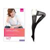 Medi Mediven Comfort Thigh-High with Silicone Border, 30-40, Closed, Ebony, Size 1, 1/EA IND NE48751-EA